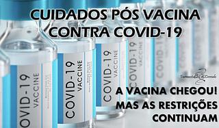 Cuidados pós vacina contra Covid-19