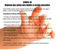 Dicas  de farmacêutico:COVID-19: higiene das mãos de bebês e recém-nascidos