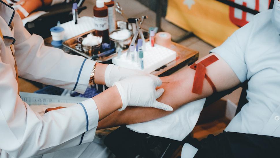 Tratamento do sangue para doação
