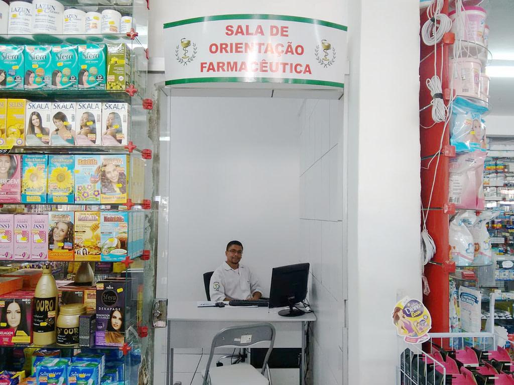 Sala de orientação farmacêutica